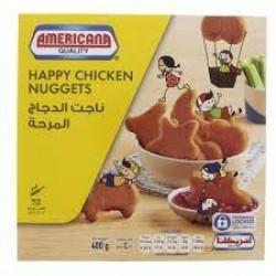 AMERICANA HAPPY CHICKEN NUGGETS 400 G