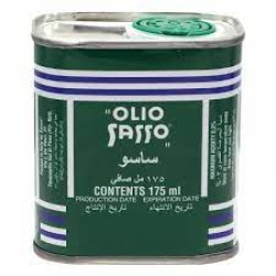 OLIVE OIL SASSO CONTENTS 175ML