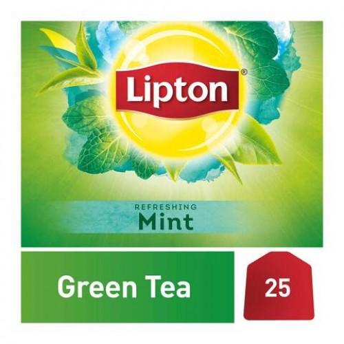 LIPTON -Green Tea MINT 25 Bag . 37g