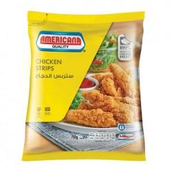 Americana chicken strips 750g