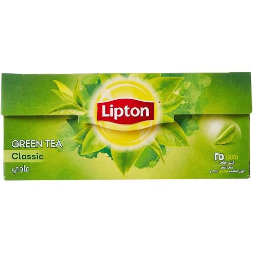 LIPTON Pure Bitter GREEN TEA 25 Bag . 37.5g