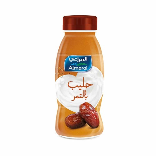 Almarai milk with dates
