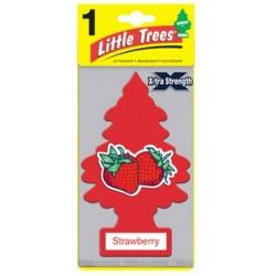 Car-Freshner Little Trees X-tra Strawberry - 1pc