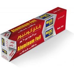 Aluminum foil foil, size 45X600 cm, 2 roll