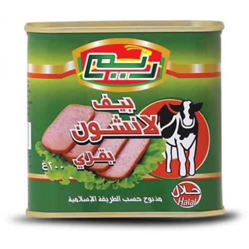 ريم صندوق لانشون لحم ,200 غرام