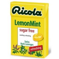 ريكولا 7610700607046 حلوى أعشاب سويسرية - ليمون / نعناع