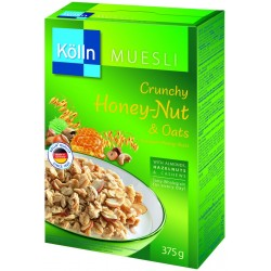 Mosley Colin Crispy Oatmeal Flakes with Honey and Nuts (375 g)