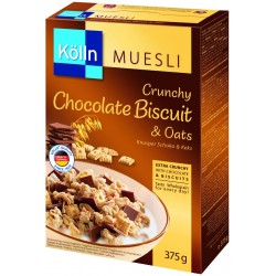 Mosley Colin Oatmeal flakes with chocolate and biscuits (375 g)