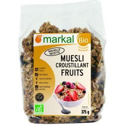 Mezzoli crispy organic fruits of marcal, 375 g