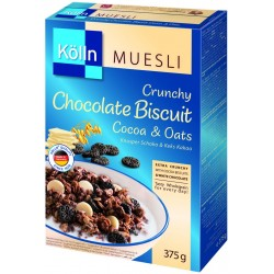 Mosley Colin Crispy oatmeal flakes with chocolate and cocoa biscuits (375 g)