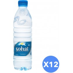 Sohat Mineral Water - Pack of 12 Pieces (12 x 500ml)