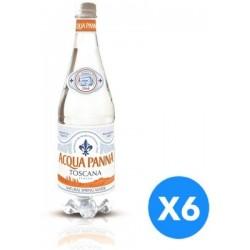 Acqua Panna Plastic Bottle Mineral Water - Pack of 6 Pieces (6 x 1L)