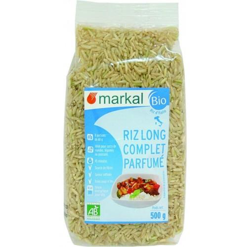 أرز اسمر عضوي معطر من ماركال ، 500جرام