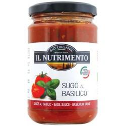 بروبايوس نوتريمنتو 280غ صلصة طماطم مع الريحان - SUGBASI0280