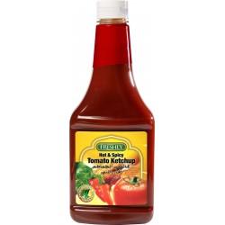 فرشلي كاتشب طماطم حار و المبهر ، 680 جم