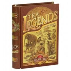 باسيلور شاي اسود ، كتاب الشاى الأسطورة سيلان - 100 غم ، 70888