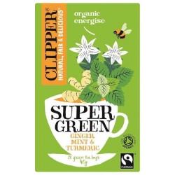 كليبر شاي اخضر عضوي 20 كيس