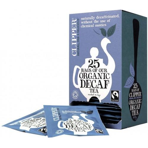كليبر شاي يومي عضوي بدون كفايين معتمد 25 كيس , 62.5 جرام