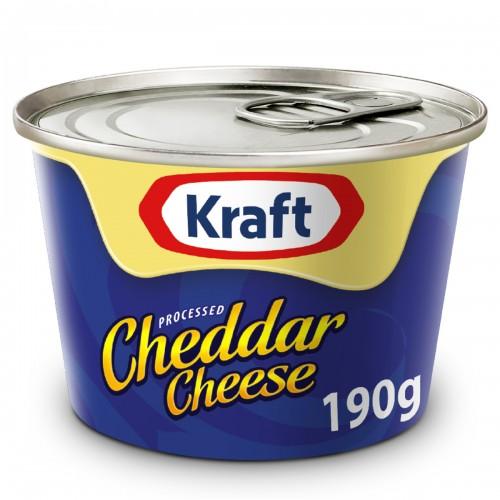 KRAFT CHEDDAR 190 G