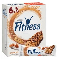 Crunchy caramel breakfast cereal bar