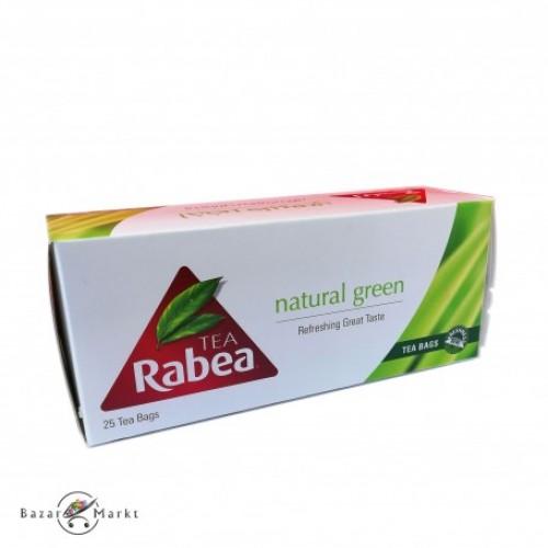 TEA RABEA NATURAL GREEN 25 BAGS